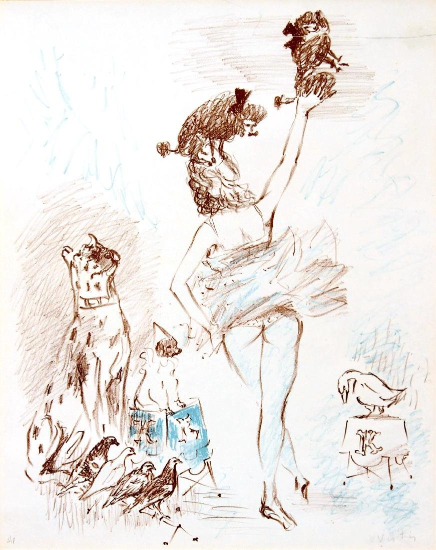 """Marcel Vertes - Untitled from """"Le Cirque"""""""