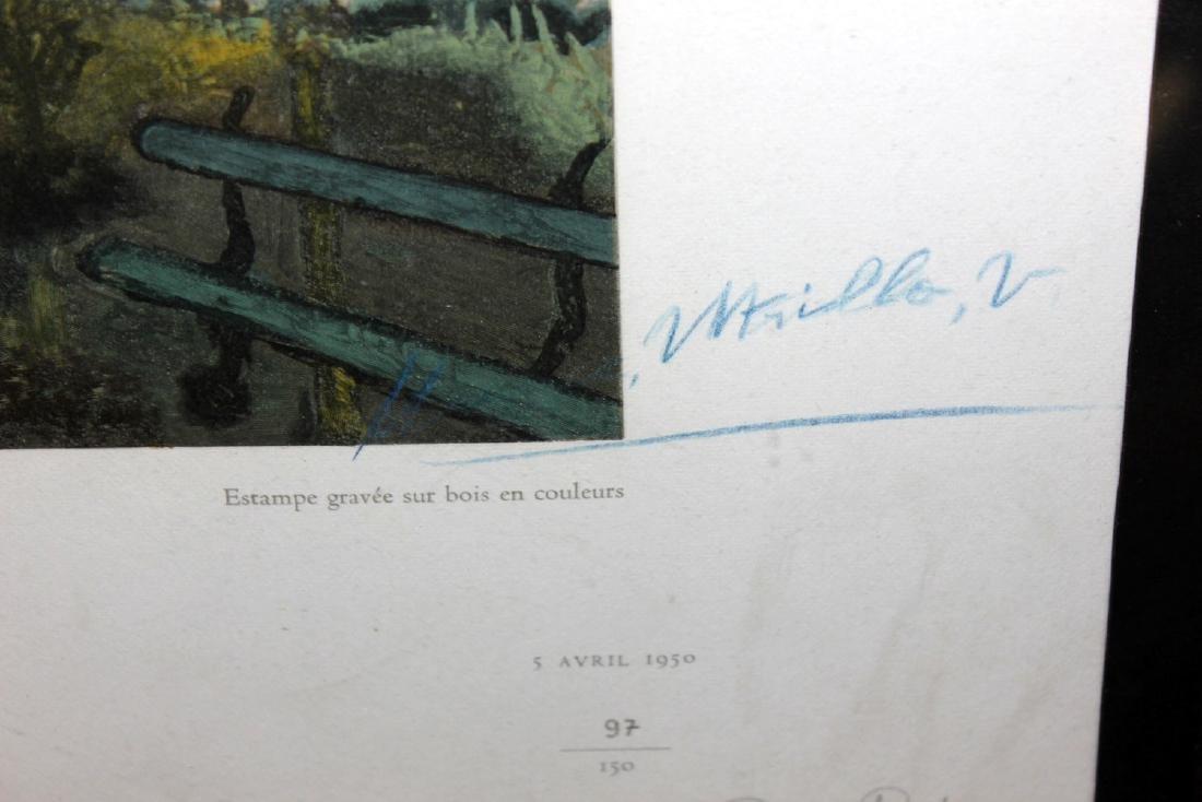 "Maurice Utrillo ""Le Jardin de Montmagny"" - 2"