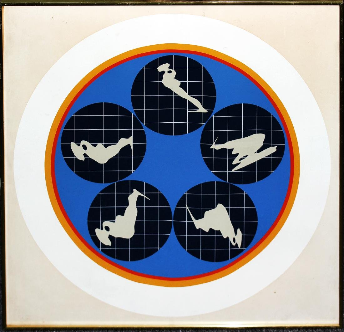 Ernesto Trova - Falling Man Manscapes Portfolio 1969