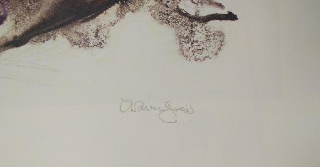 """Chiam Gross """"Untitled (Lounging Woman)"""" - 2"""