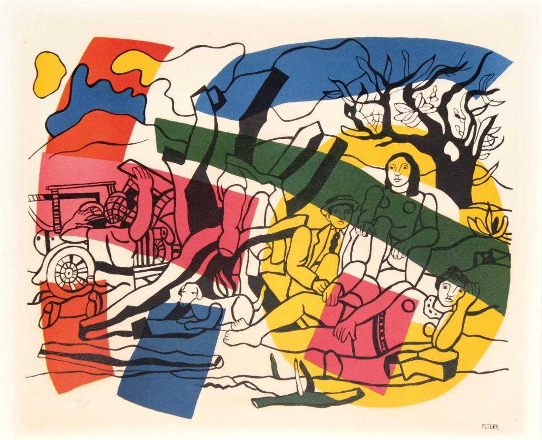 Fernand Leger - La Prtie de Campagne