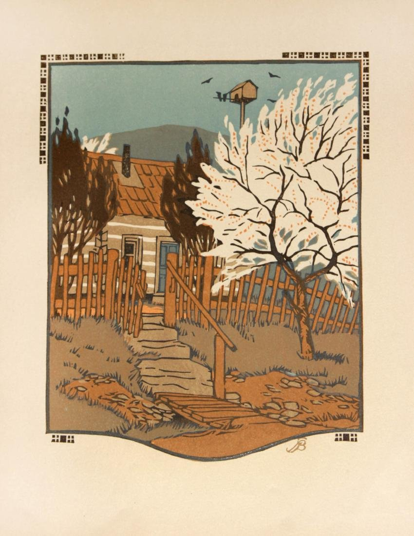 Gustave Baumann - April