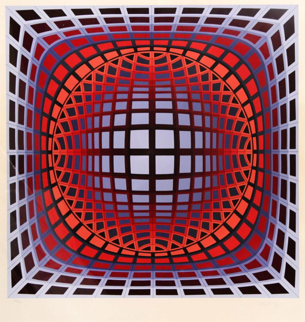 Victor Vasarely - Uran