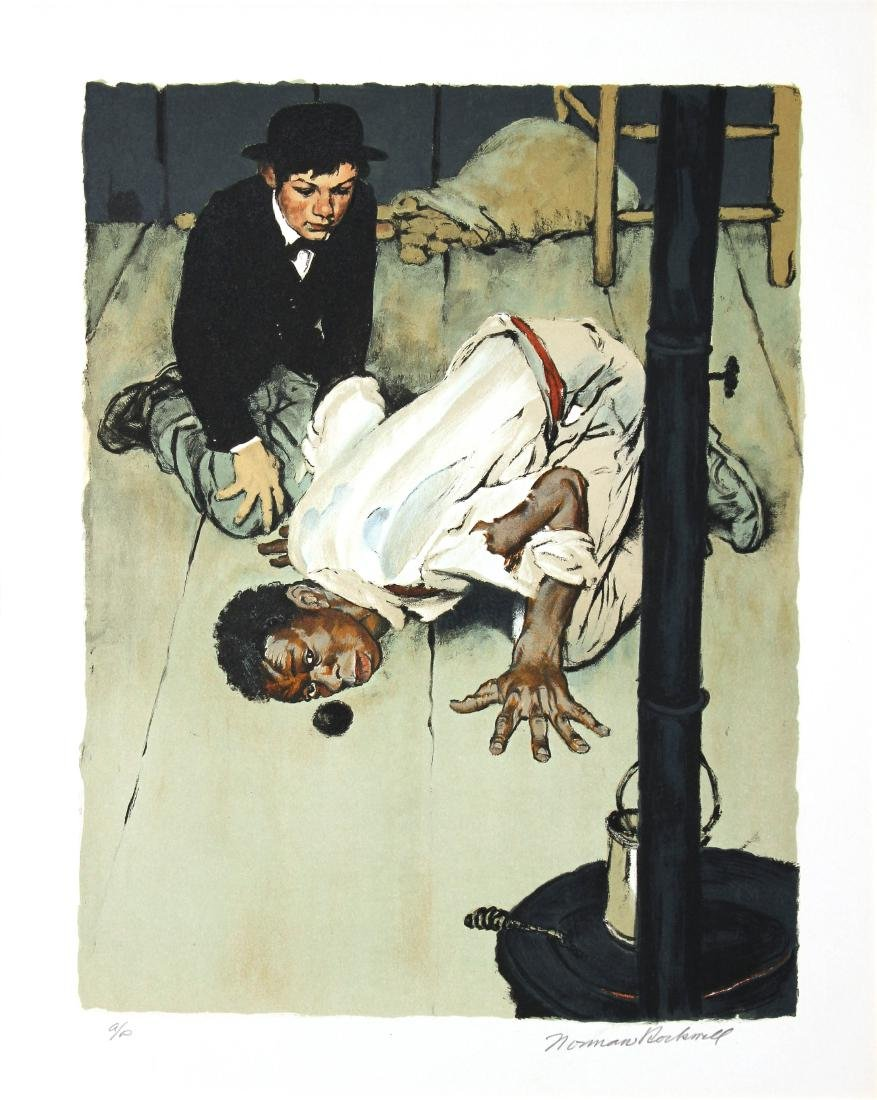 Norman Rockwell - Jim Listens