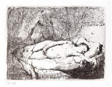 Rembrandt van Rijn  Danae et Jupiter