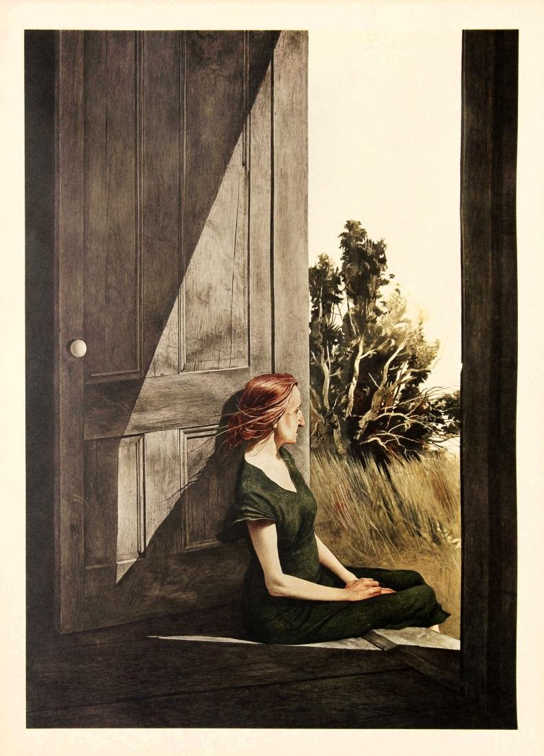 Andrew Wyeth  - Christina Olson