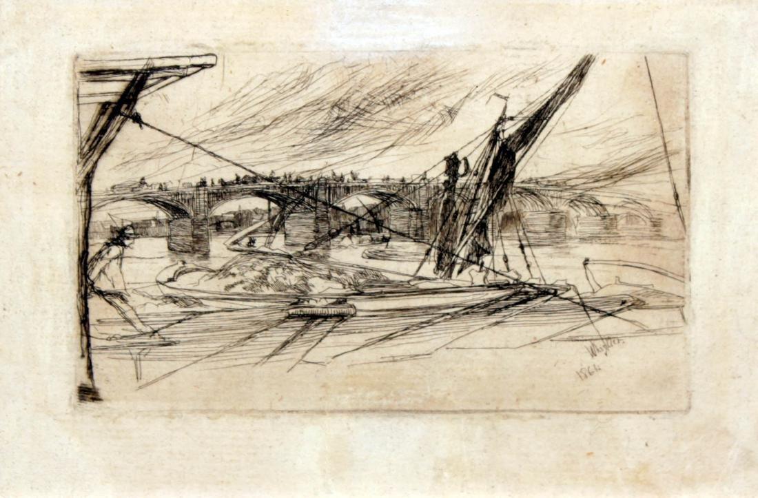 James Abbott McNeill Whistler - Vauxhall Bridge