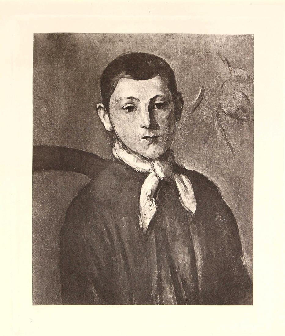 Paul Cezanne - Portrait of Louis Guillaume