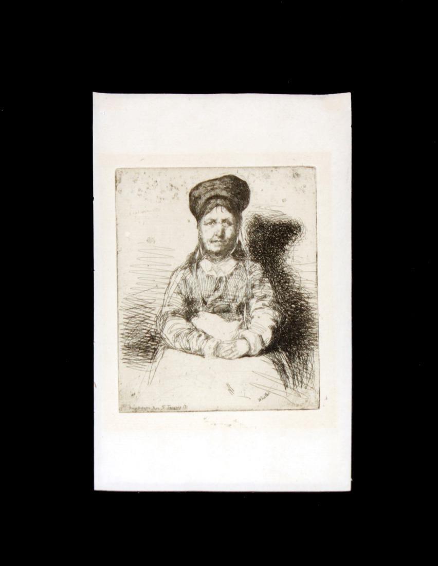 James Abbott McNeill Whistler - La Retameuse