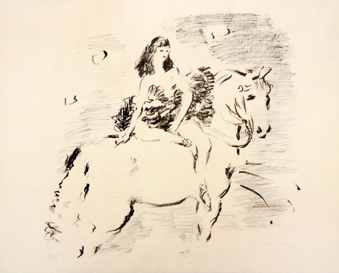 Marcel Vertes - Equestrienne