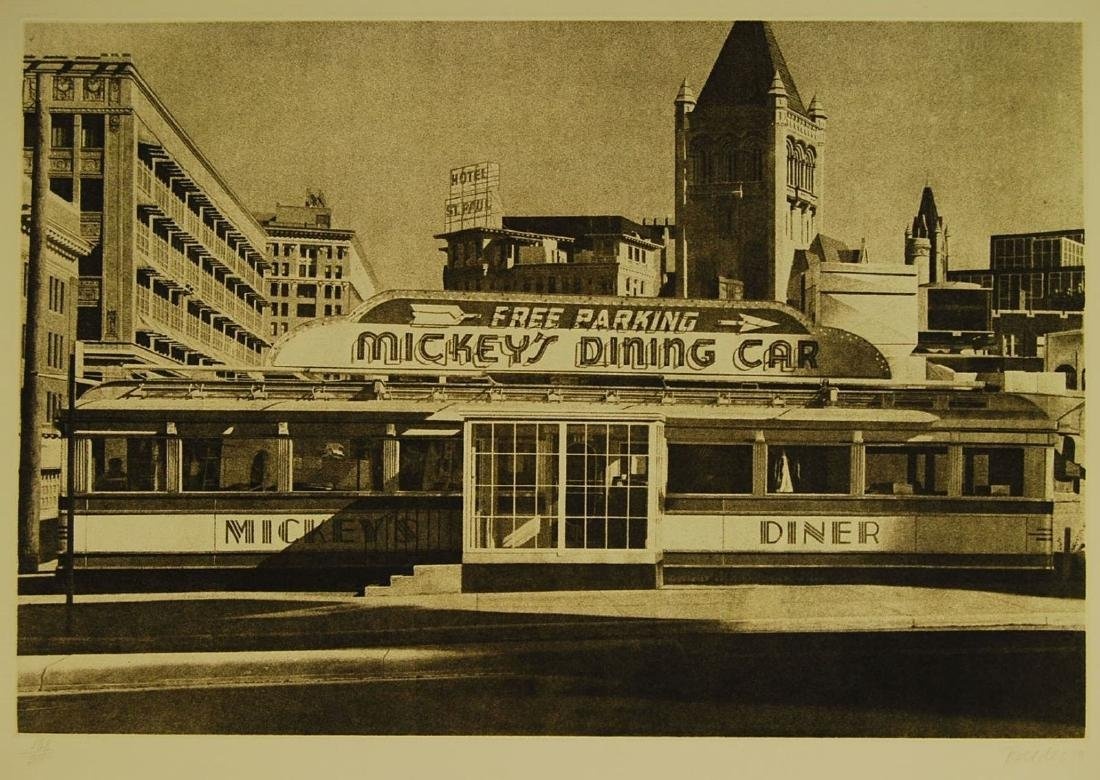 John Baeder - Mickey's Diner