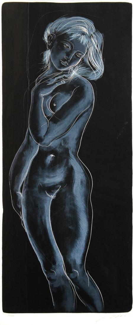 Le crepuscle  by Hans Erni