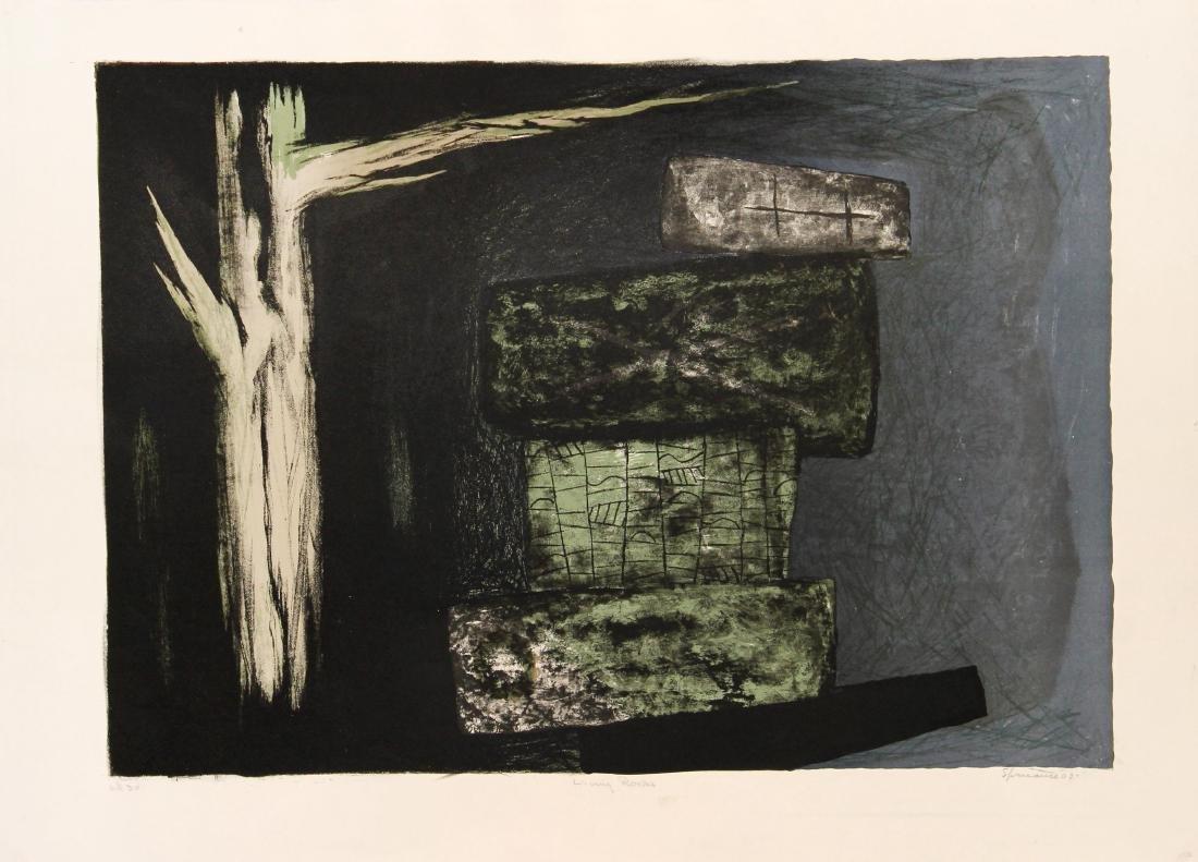 Benton Murdoch Spruance - Living Rocks