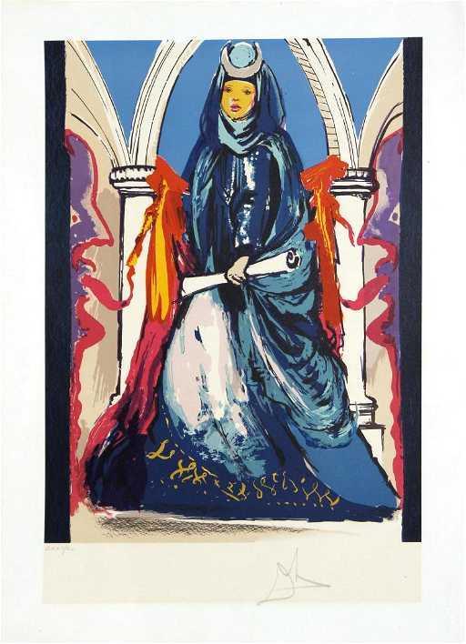 Salvador Dali Painting Costume