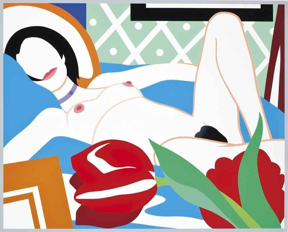 Tom Wesselmann - Monica with Tulips