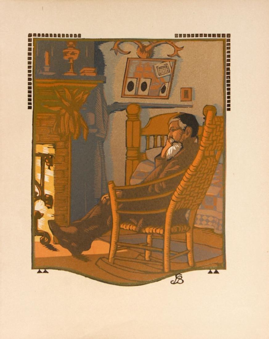 Gustave Baumann - December