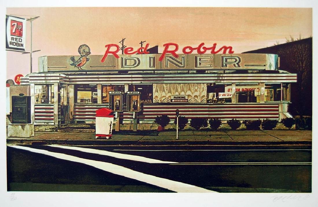John Baeder - Red Robin