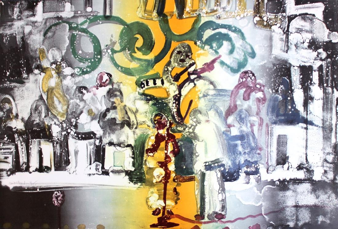 """Romare Bearden """"Introduction for a Blues Queen"""""""