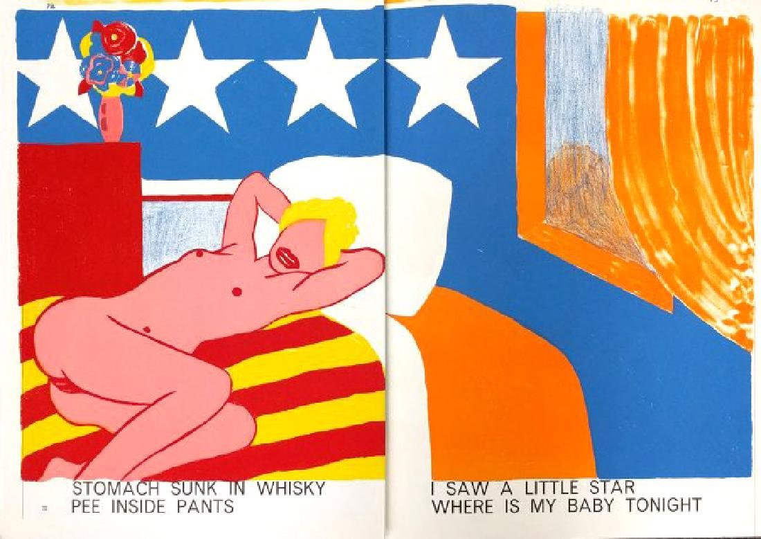 "Nude from ""One Cent Life"" by Tom Wesselmann"