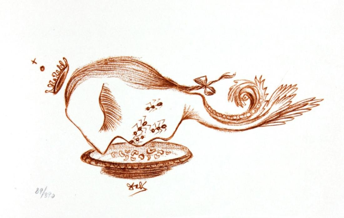 Salvador Dali - Casanova Illustration VII