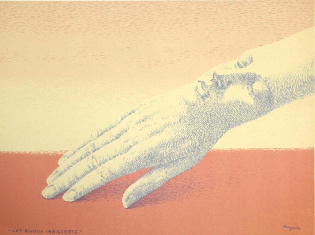 Rene Magritte - Les Bijoux Indiscrets
