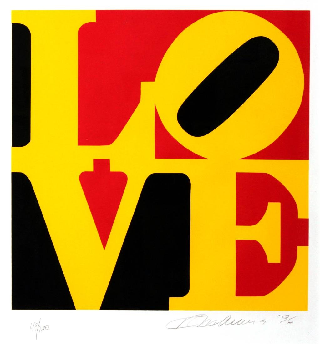 Robert Indiana - LOVE '96