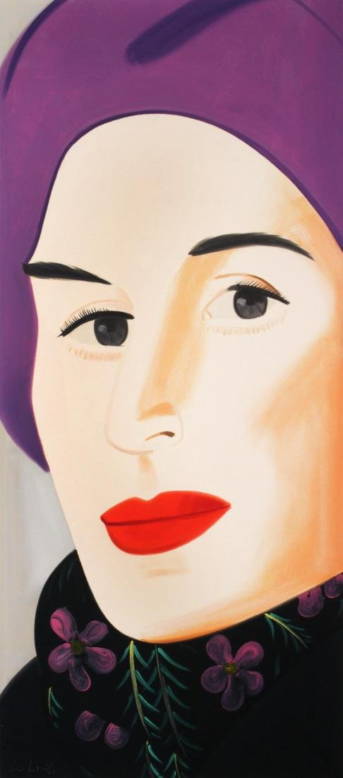 Alex Katz - Purple Hat (Ada)