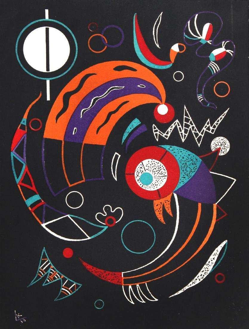 Wassily Kandinsky - Comets