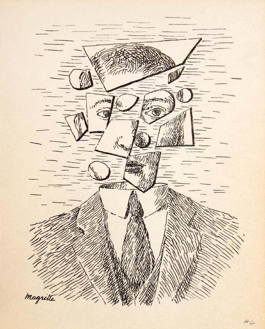 Rene Magritte - Untitled (Portrait)