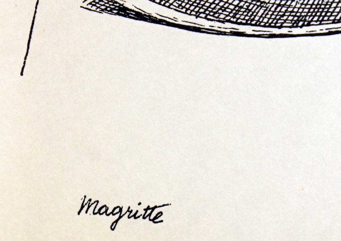 Rene Magritte - Untitled (Bowler Hat) - 2