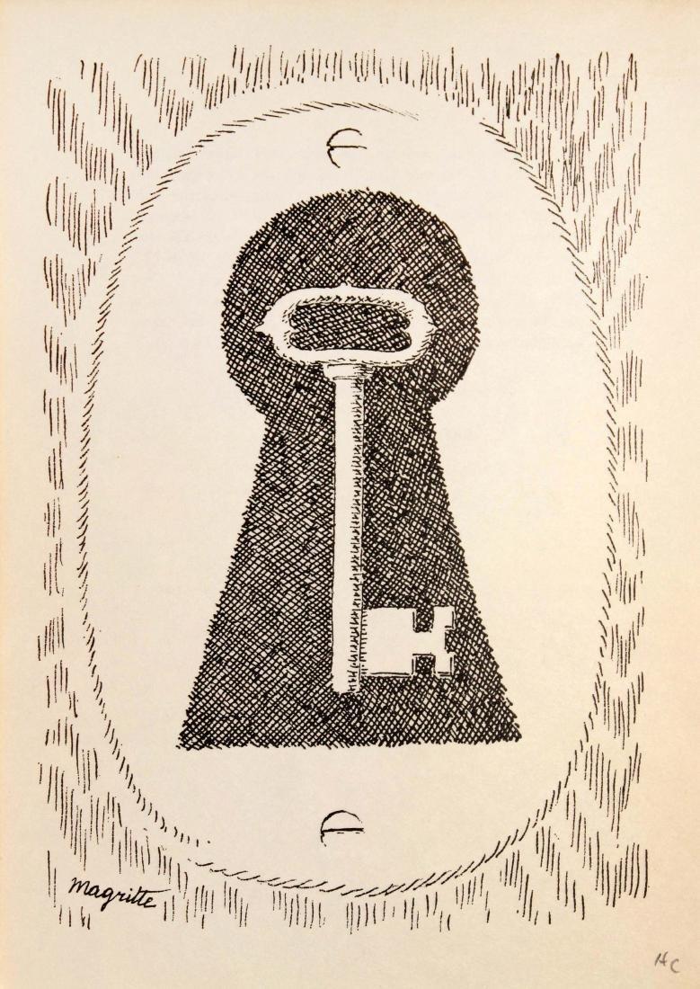 Rene Magritte - Untitled (Key)