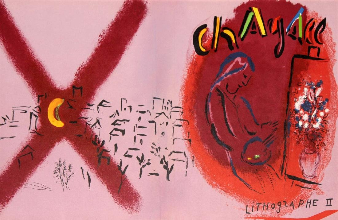 Marc Chagall - Chagall Lithographs Vol. 2