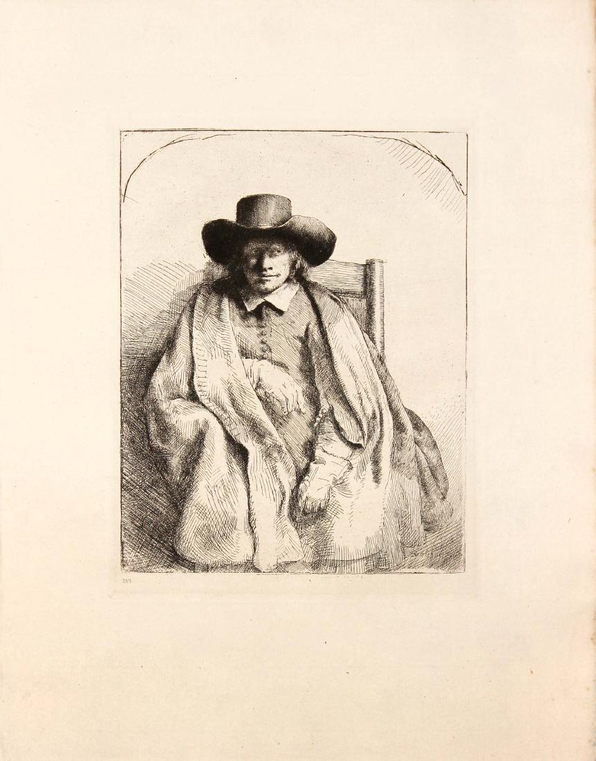 Rembrandt van Rijn - Clement de Jonghe Printseller