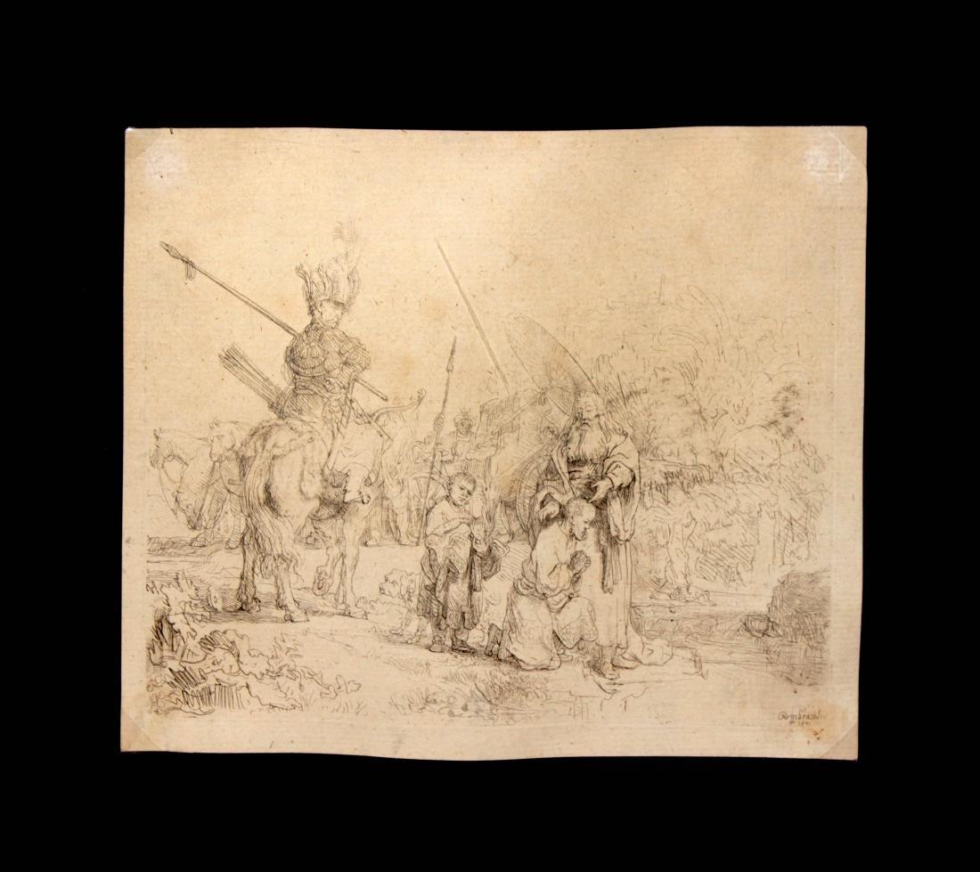Rembrandt van Rijn - The Baptism of the Eunuch