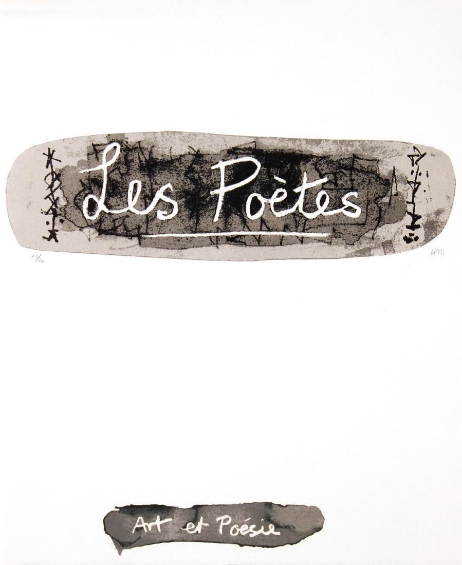 Henry Moore - Les Poetes