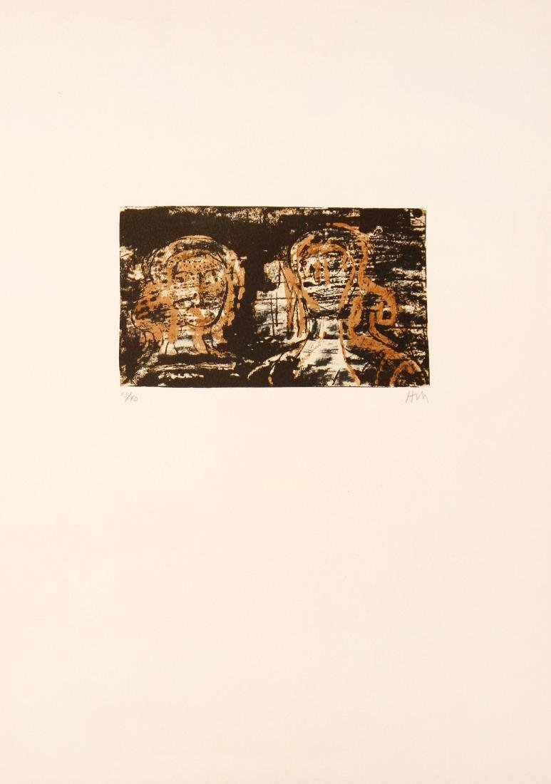 Henry Moore - Two Heads