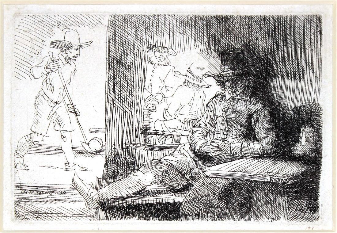 Rembrandt van Rijn - The Golf Player