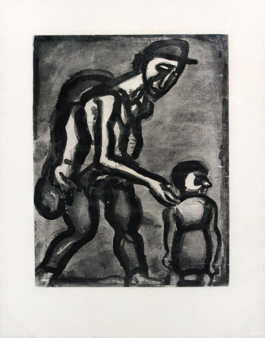 Georges Rouault - Take Refuge in Your Heart Poor