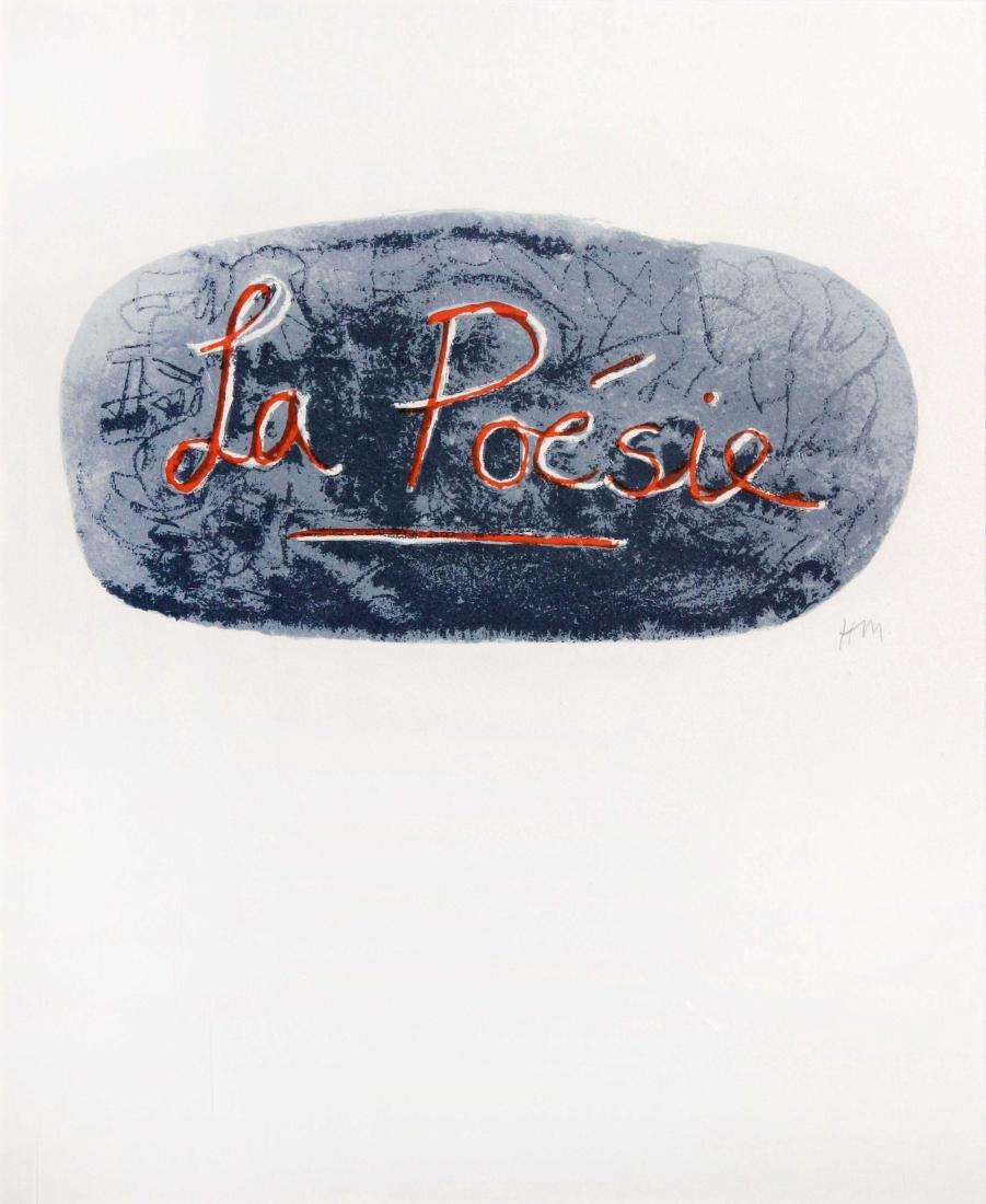 Henry Moore  - La Poesie