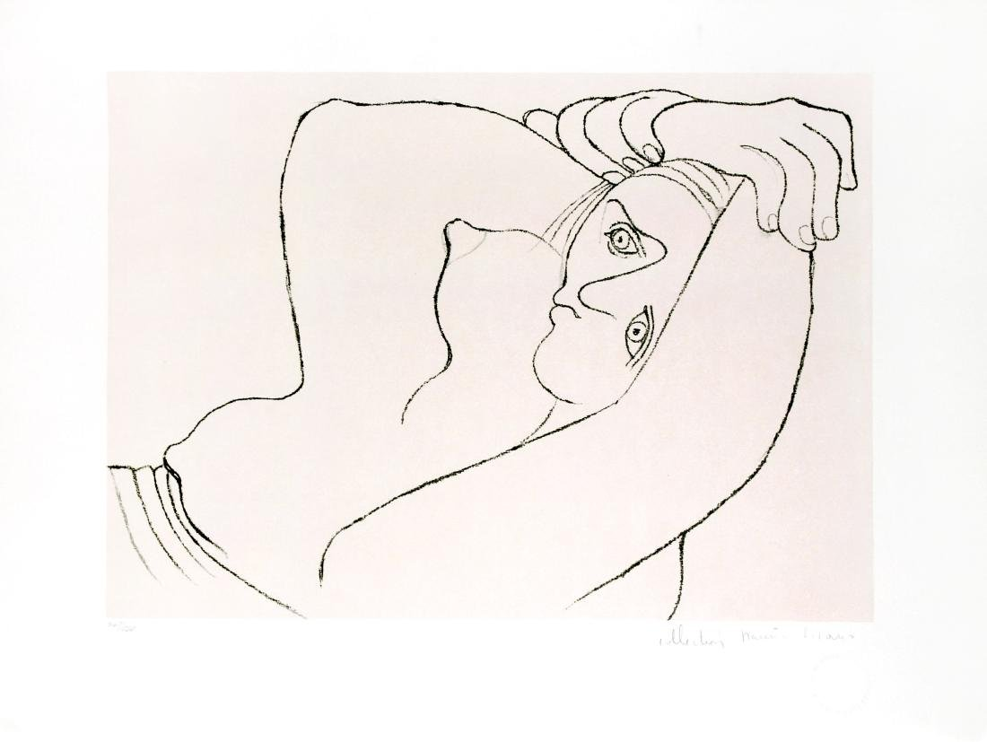 Pablo Picasso (After) - Femme Couchee