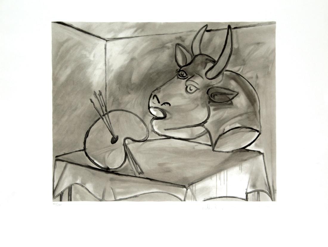 Pablo Picasso (After) - La Palette et la Tete