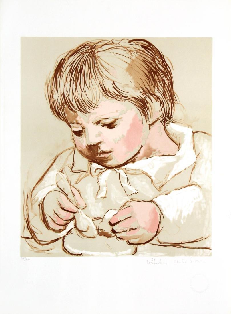 Pablo Picasso (After) - Enfant Deieunant