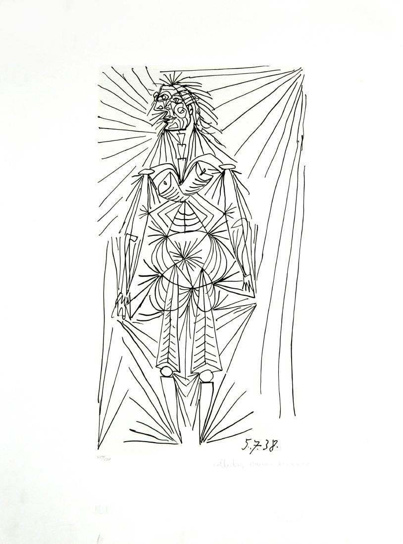 Pablo Picasso (After) - Femme Debout