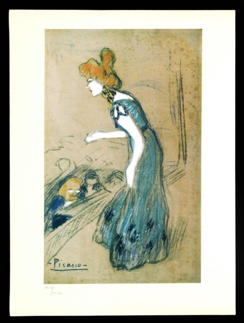 Pablo Picasso (After) - La Diseuse