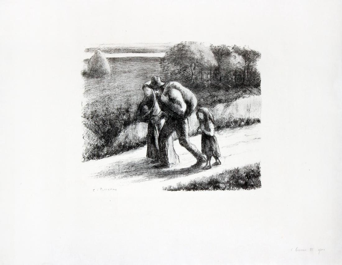 Camille Pissarro - The Vagabonds