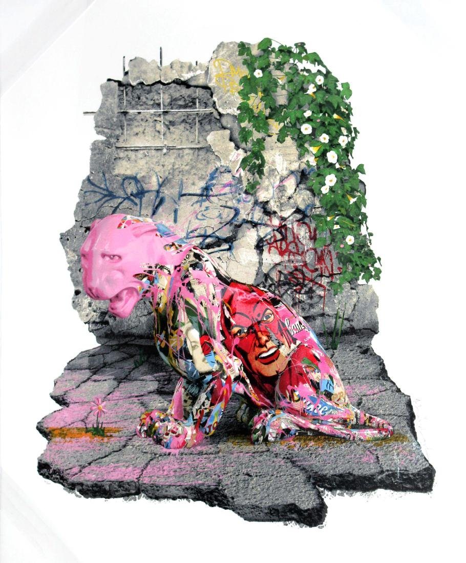 Mr. Brainwash - Untitled (Nepal Relief)