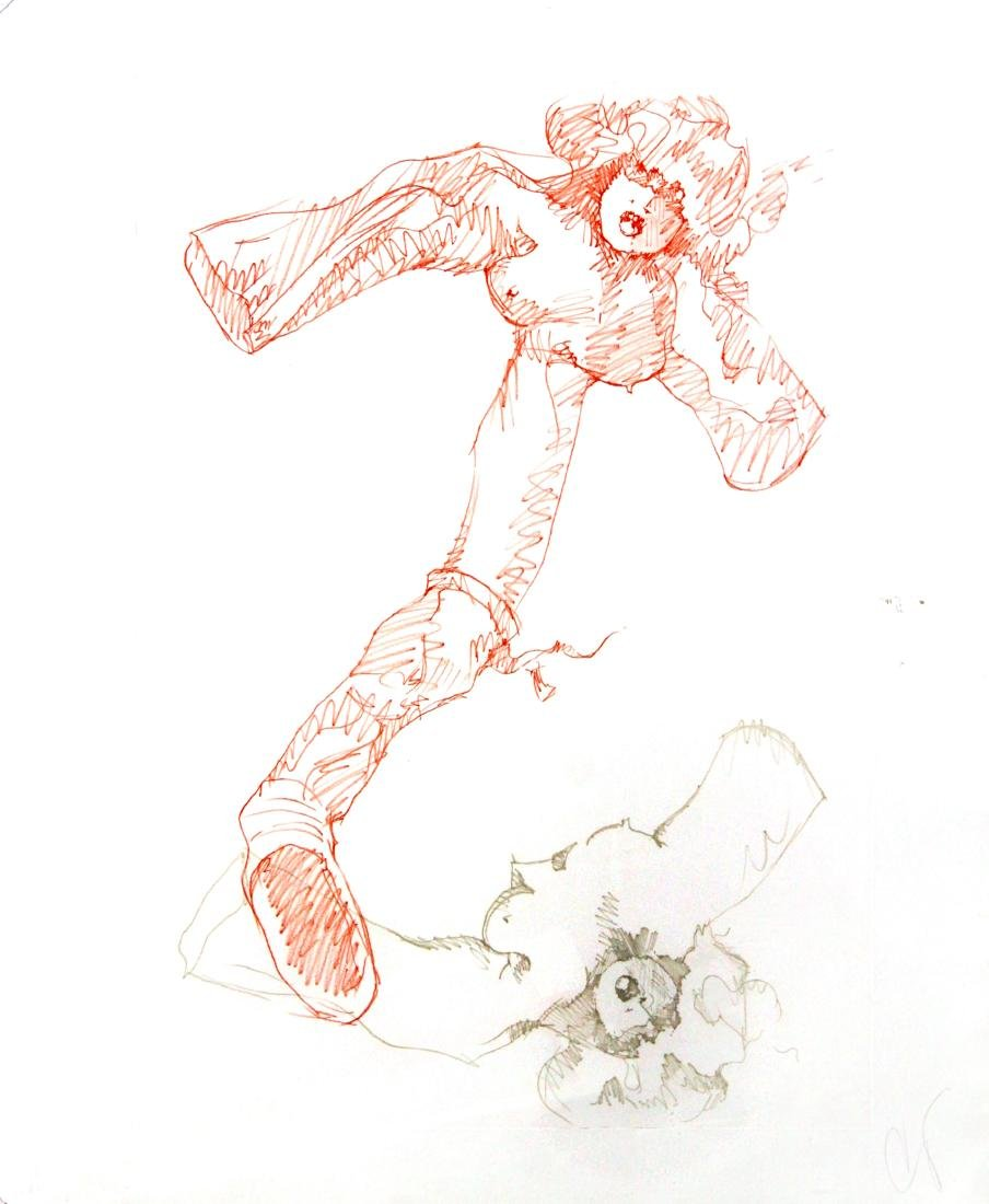 Claes Oldenburg - Untitled Lithograph