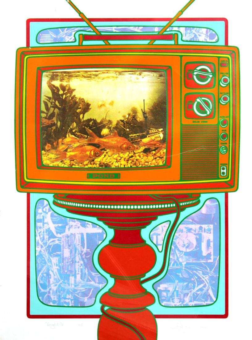 Clayton Pond - Recycled TV