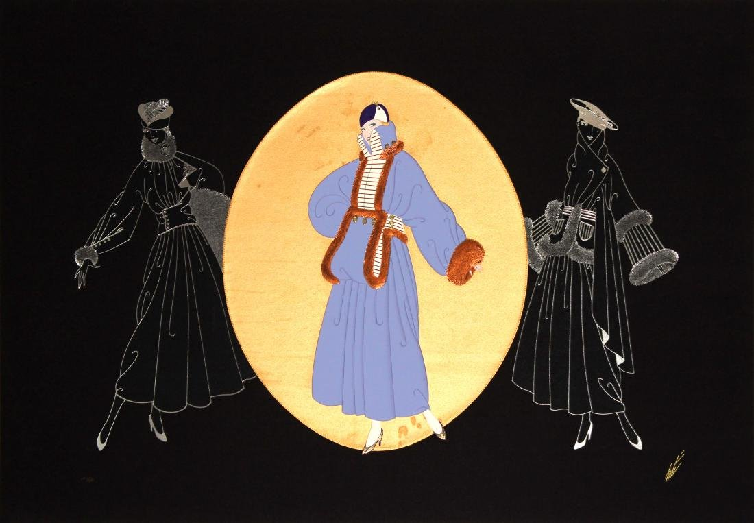 Erte  - Winter Promenade