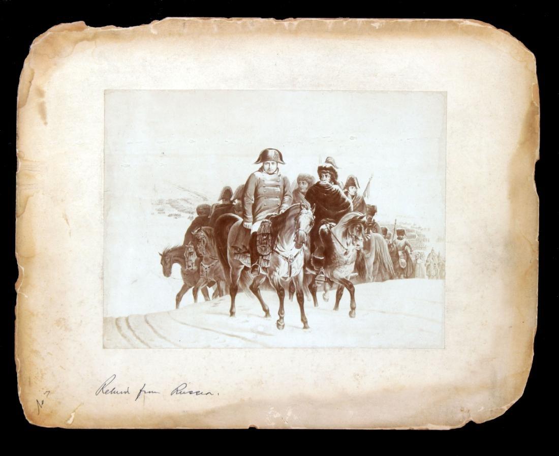 Unknown Artist - Napoleon's Return from Russia